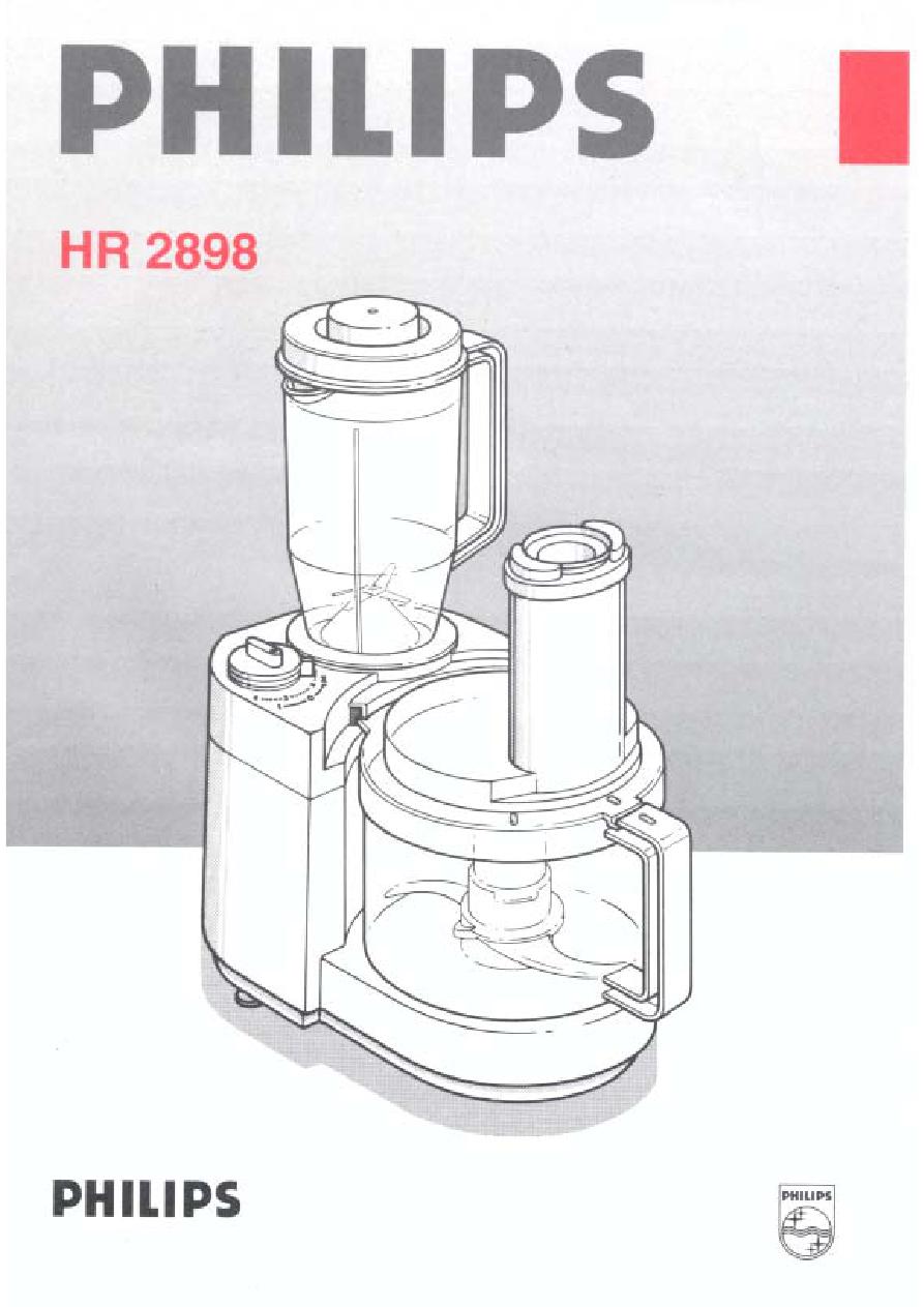 Philips Küchenmaschine Hr7762/90 Bedienungsanleitung 2021