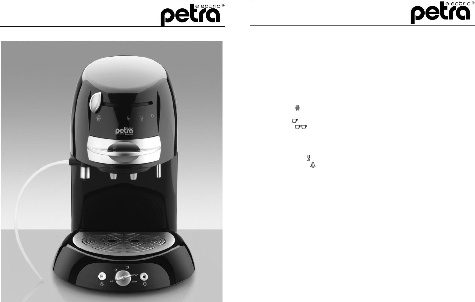 bedienungsanleitung petra km seite 1 von 8 deutsch. Black Bedroom Furniture Sets. Home Design Ideas