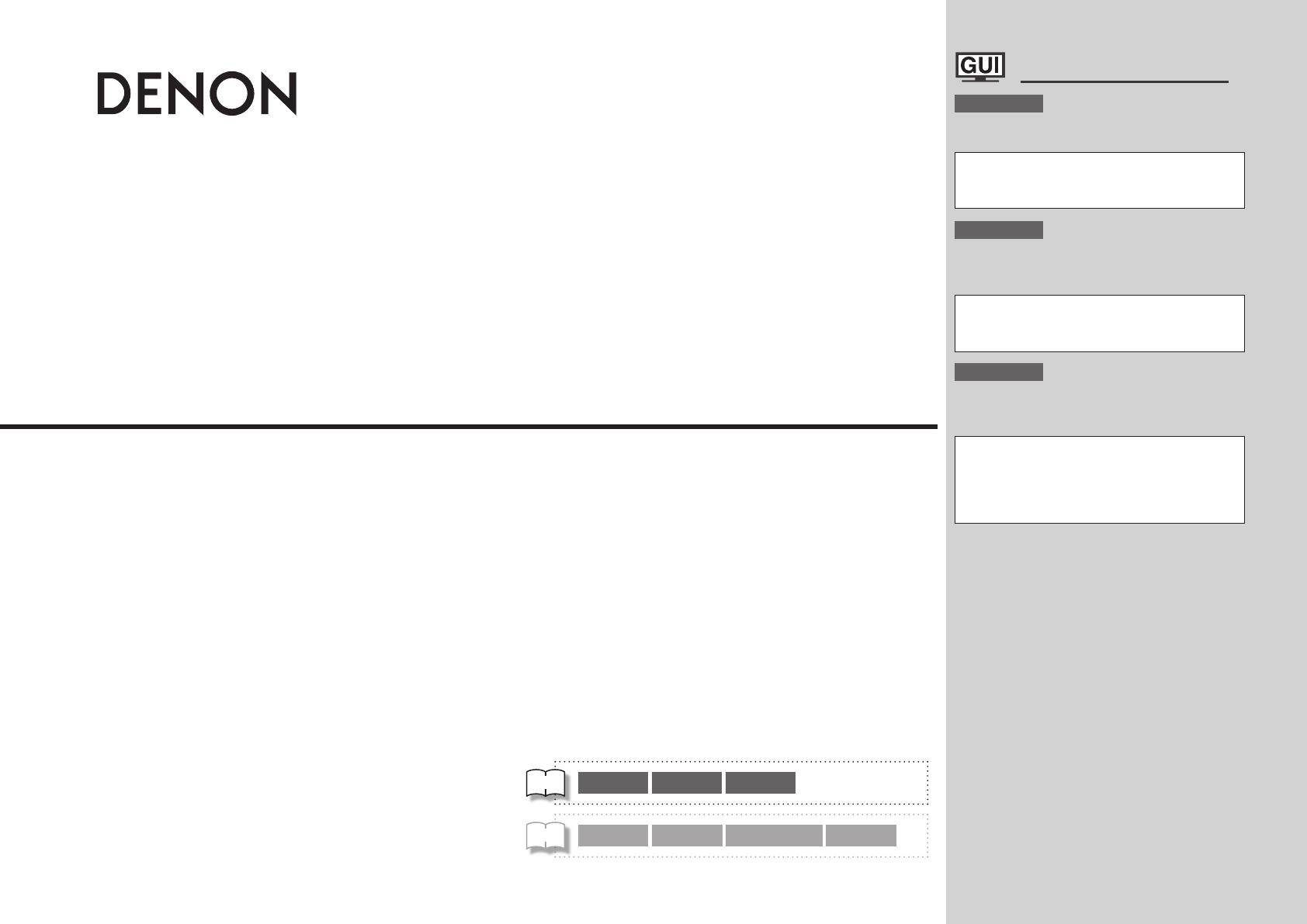 Bedienungsanleitung Denon AVR-4308 (Seite 27 von 116) (Deutsch ...