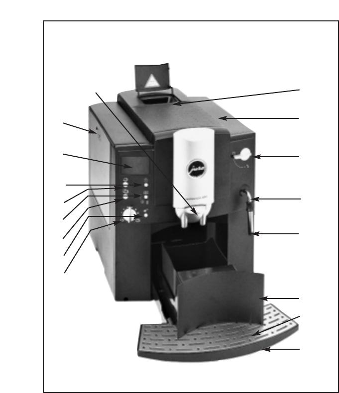bedienungsanleitung jura impressa e65 seite 4 von 19. Black Bedroom Furniture Sets. Home Design Ideas