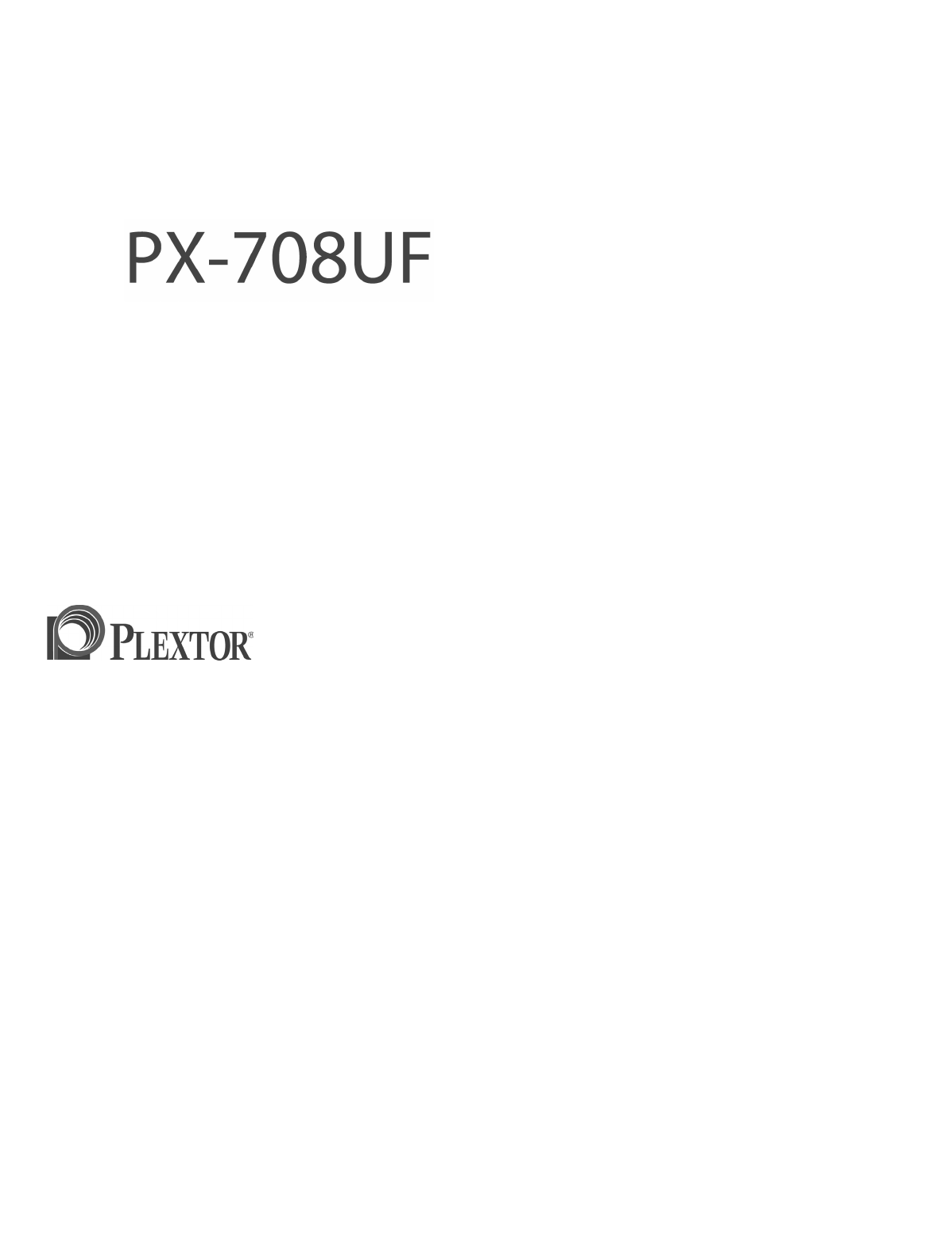 PLEXTOR PX-708UF2 DRIVER FOR MAC