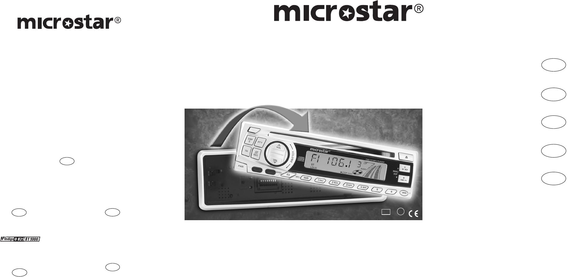 Bedienungsanleitung Microstar md 4925 mp3 (Seite 1 von 16) (Deutsch)