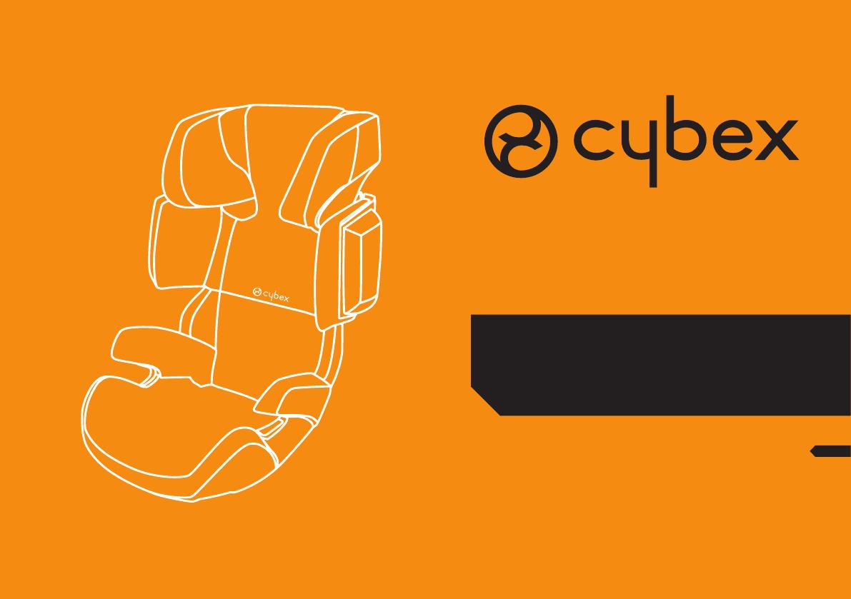 bedienungsanleitung cybex solution x2 seite 1 von 64. Black Bedroom Furniture Sets. Home Design Ideas