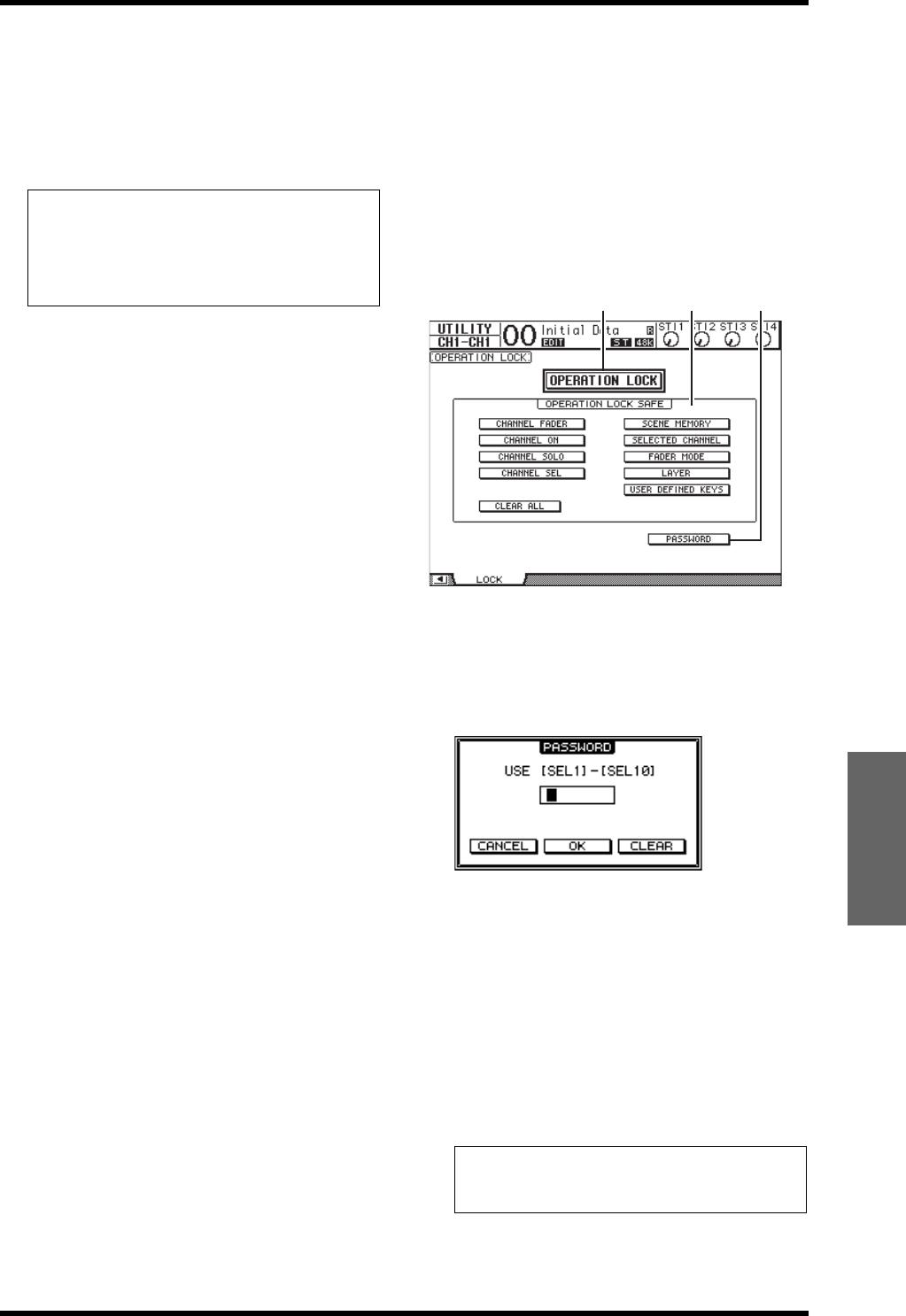 Bedienungsanleitung Yamaha 01v96i Seite 44 Von 71 Deutsch 01v96 Block Diagram Verriegeln Der Bedienoberflche 47 01v96ibedienungsanleitung