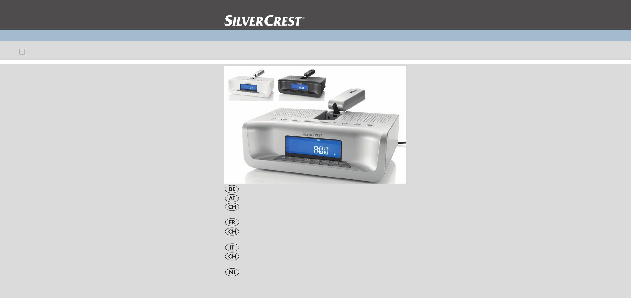 Silvercrest Bedienungsanleitung
