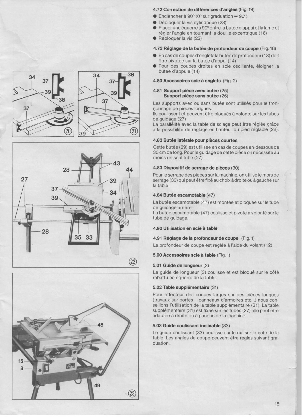 bedienungsanleitung elu tgs 172 seite 15 von 21 deutsch englisch franz sisch. Black Bedroom Furniture Sets. Home Design Ideas