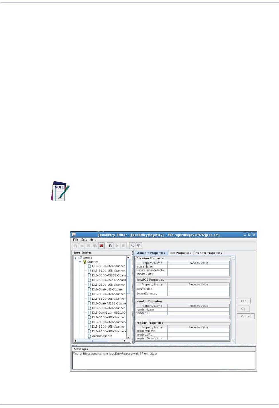 Bedienungsanleitung Datalogic JAVA POS Device Services