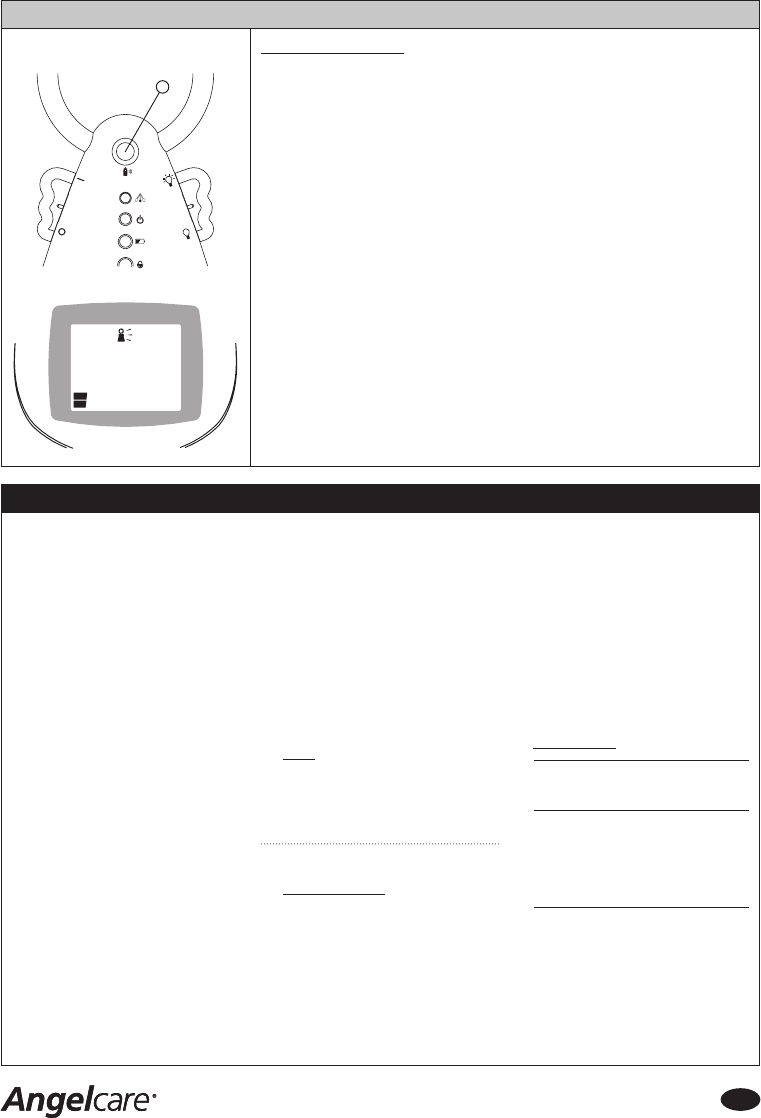 Bedienungsanleitung Angelcare AC401 (Seite 11 von 16) (Englisch)