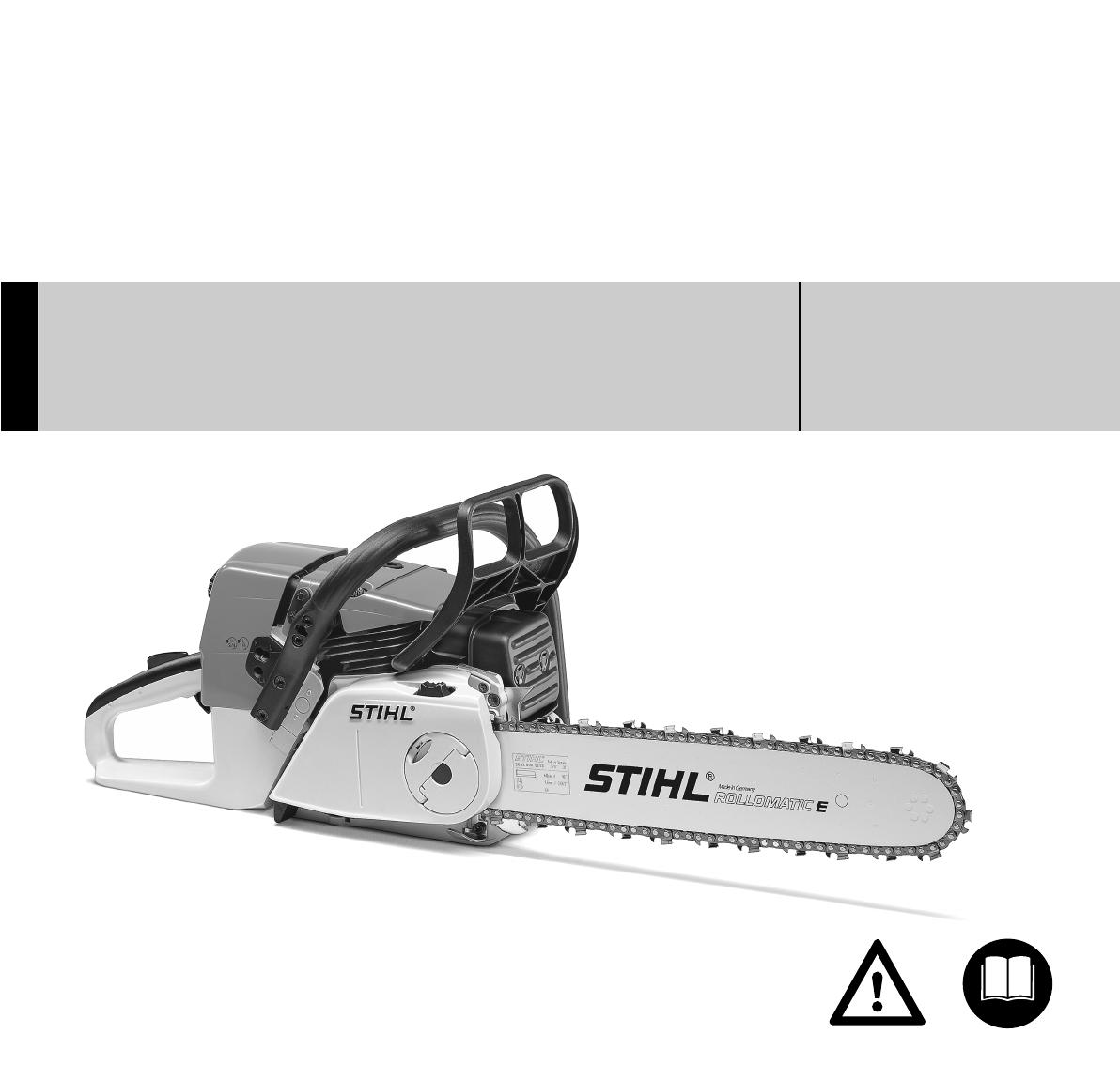 Geliebte Bedienungsanleitung Stihl MS361 (Seite 1 von 200) (Deutsch &FI_62