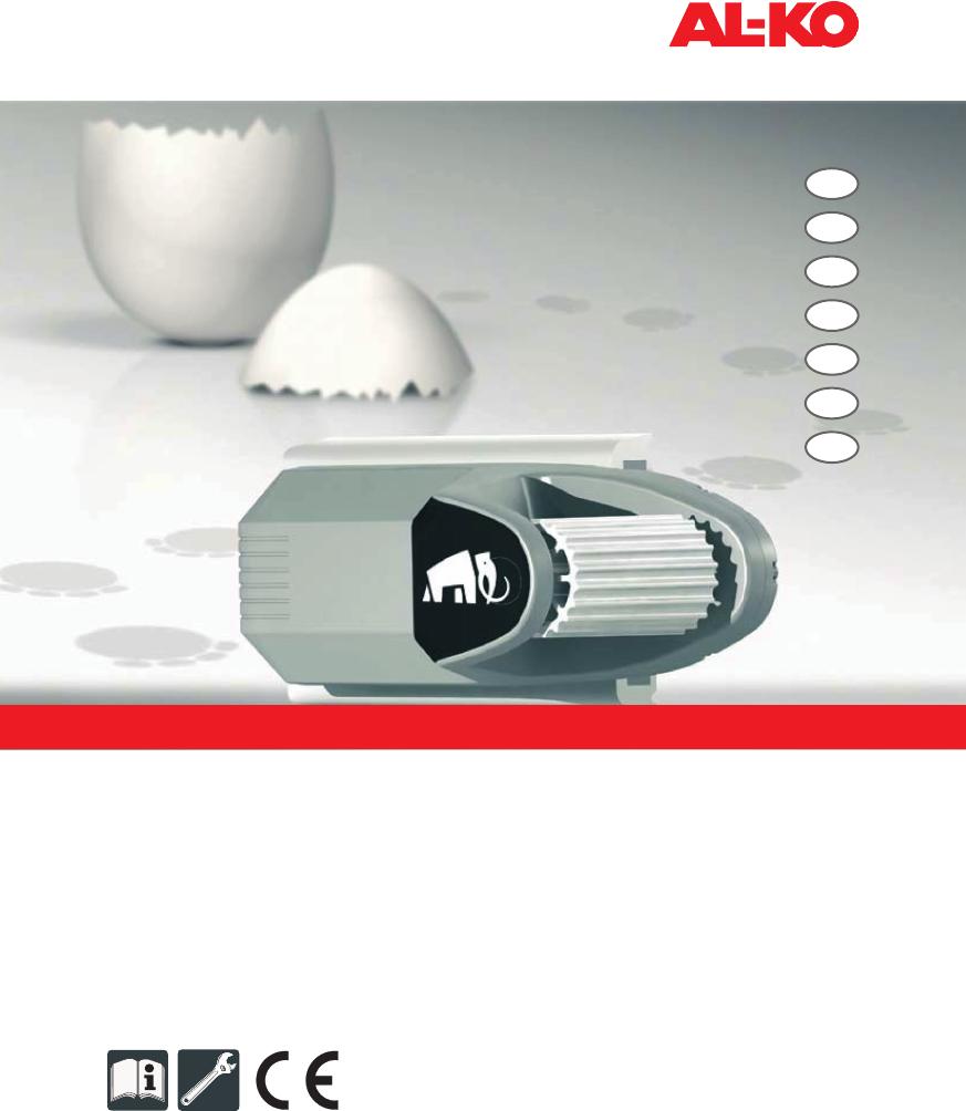 Sortendesign bieten viel Ausverkauf Bedienungsanleitung Al-ko AMS MAMMUT (Seite 1 von 88 ...