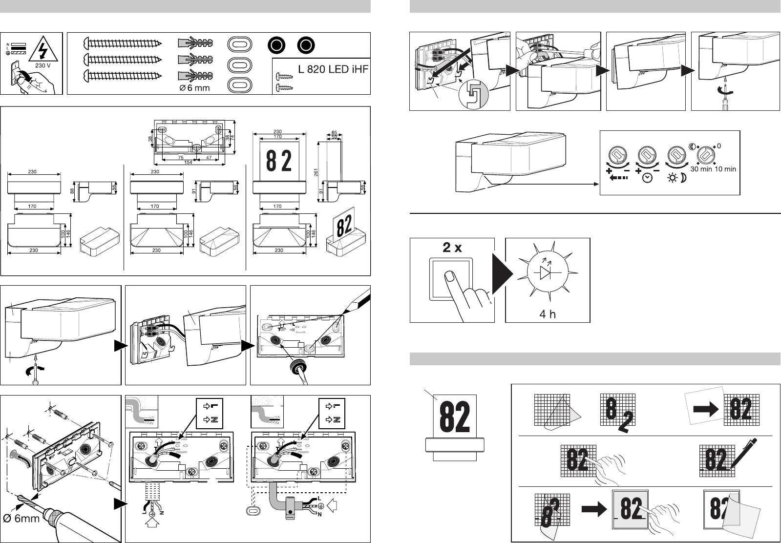 Extrem Bedienungsanleitung Steinel L 810 LED iHF (Seite 1 von 54) (Alle DH19