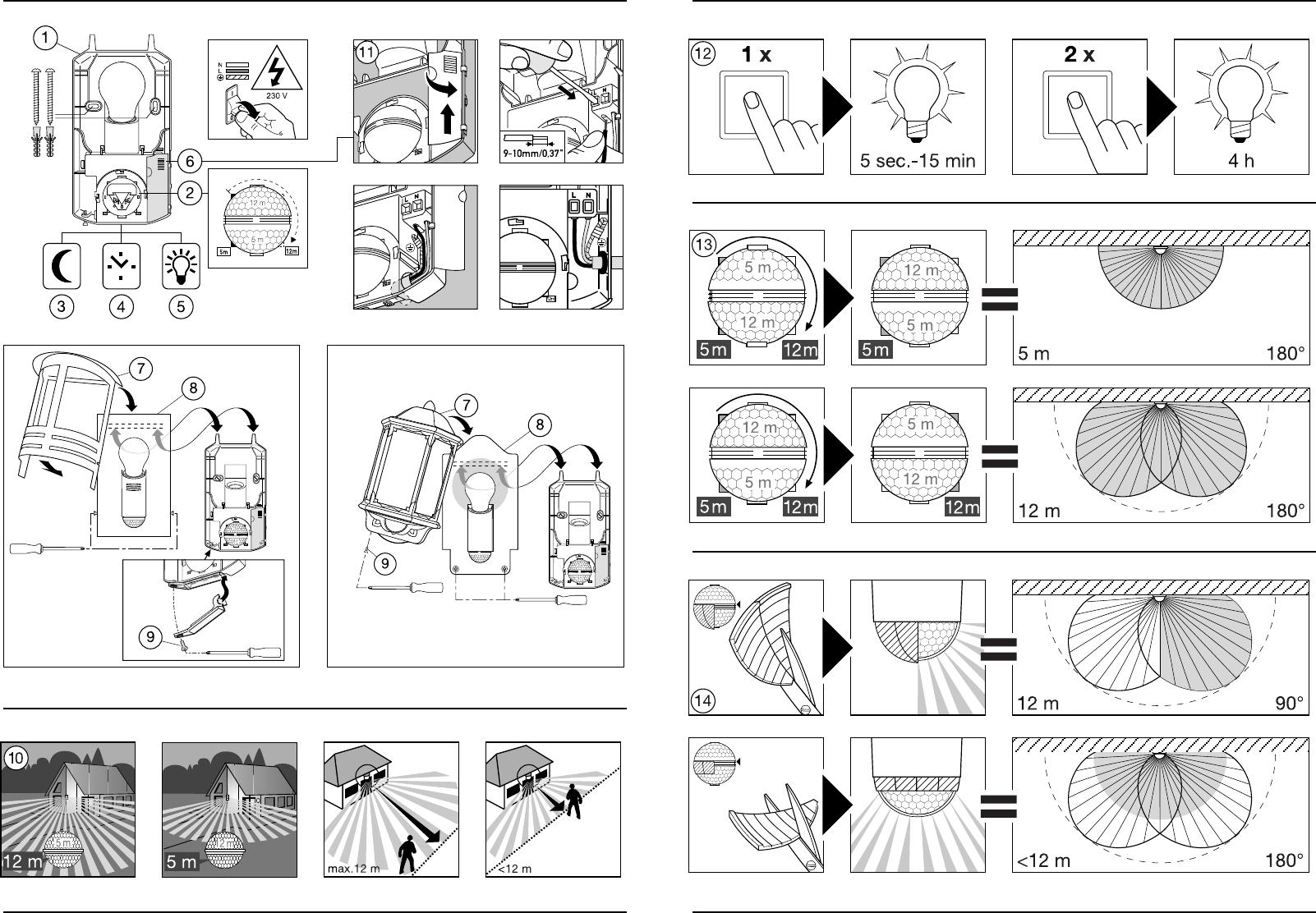 Extrem Bedienungsanleitung Steinel L 190 (Seite 1 von 22) (Alle Sprachen) YK46