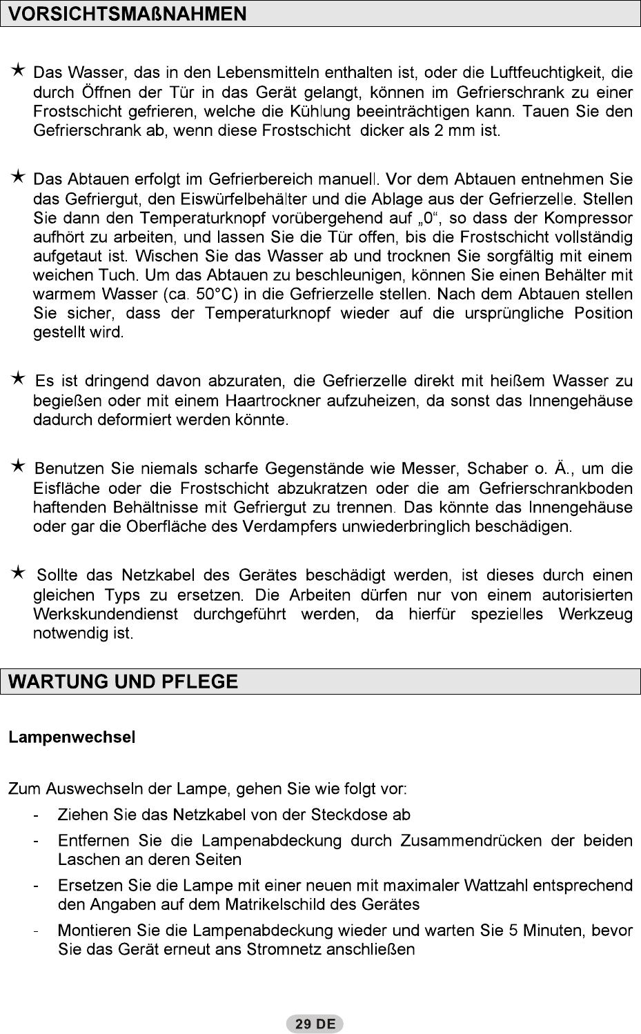 Bedienungsanleitung Hoover HDBS 5174 W (Seite 5 von 9) (Deutsch)
