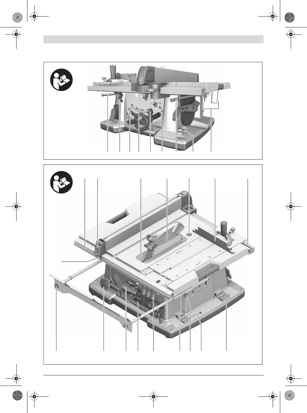 bedienungsanleitung bosch gts 10 xc professional seite 4 von 421 d nisch deutsch englisch. Black Bedroom Furniture Sets. Home Design Ideas