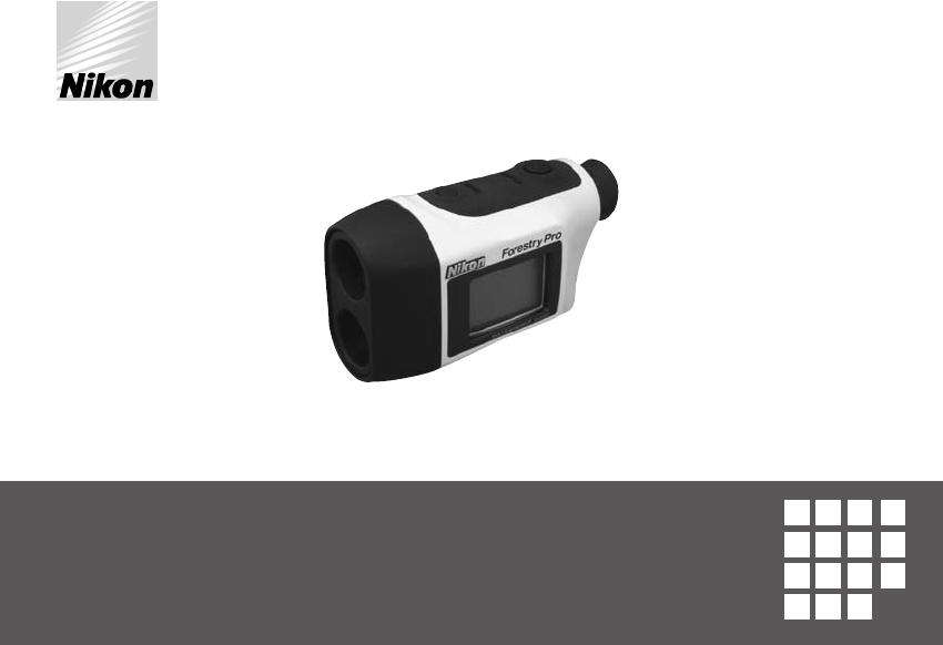 Nikon Laser Entfernungsmesser Forestry Pro : Bedienungsanleitung nikon forestry pro seite 1 von 229 dänisch