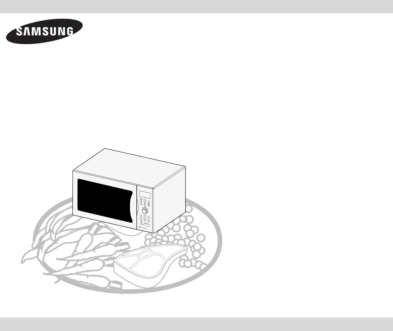 Spiksplinternieuw Bedienungsanleitung Samsung CE 1071 (Seite 1 von 32) (Deutsch) TA-63