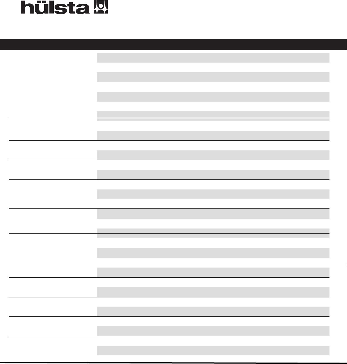 Bedienungsanleitung Hulsta Oviella Seite 1 Von 65 Deutsch