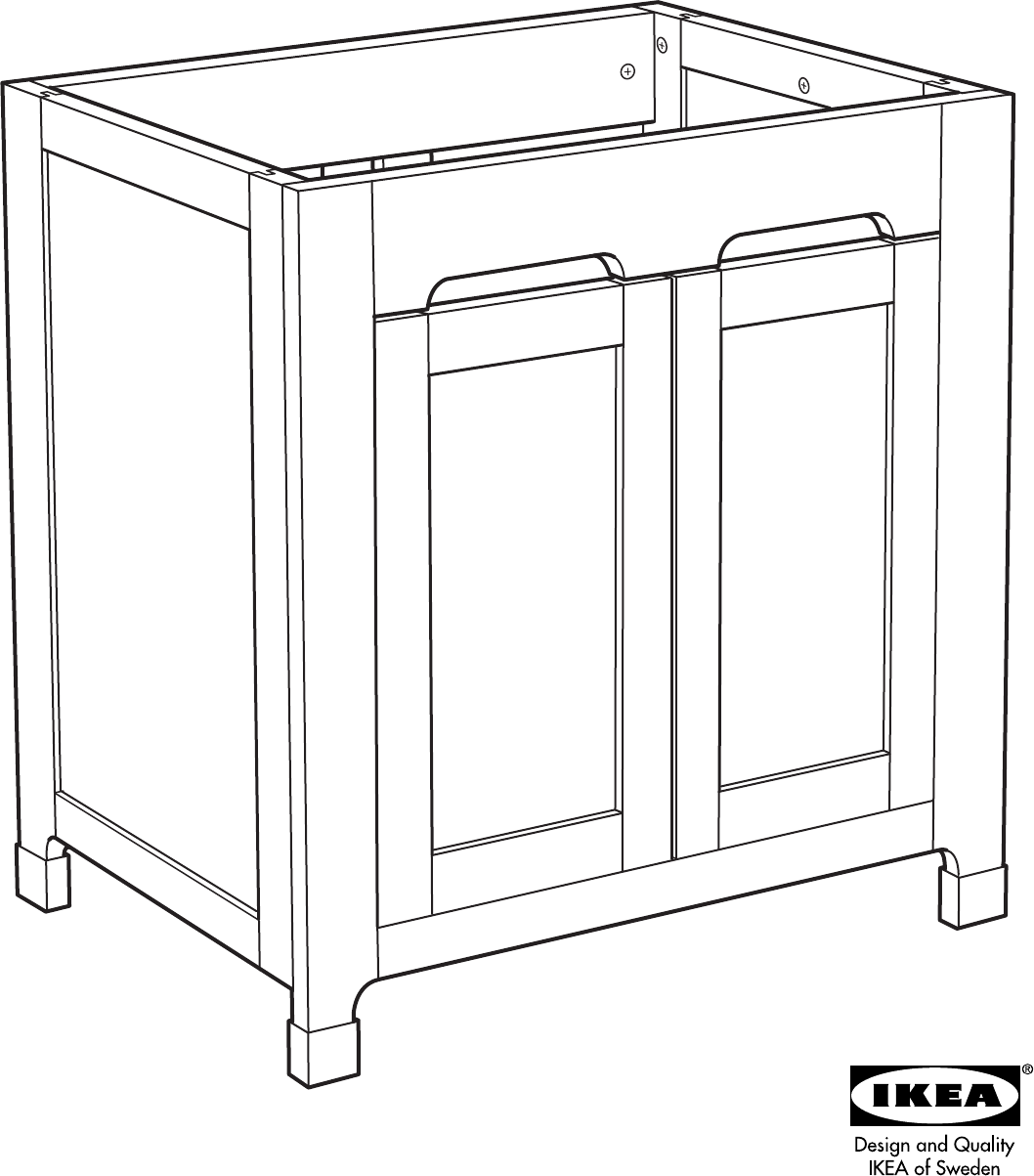 Bedienungsanleitung Ikea Freden Badkamerkast (Seite 1 von 24) (Alle ...