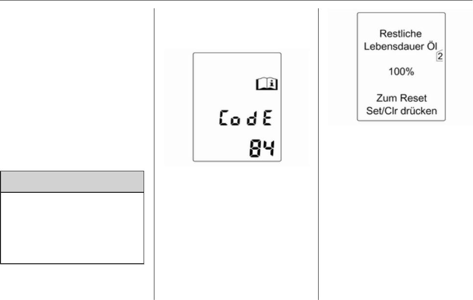bedienungsanleitung opel meriva b 2013 (seite 106 von 251) (deutsch)