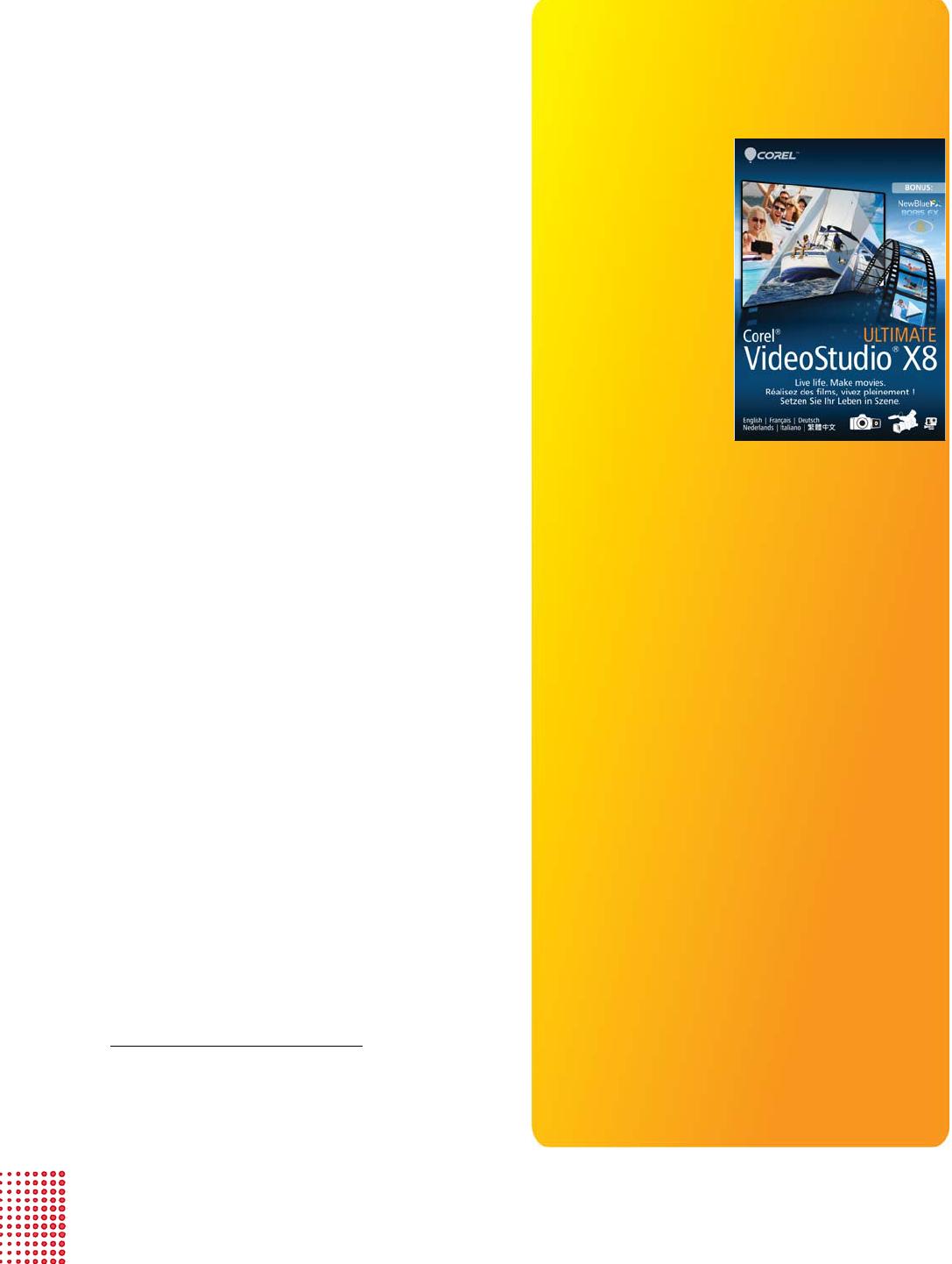 Bedienungsanleitung Corel Videostudio Pro X8 Seite 6 Von 19 Englisch