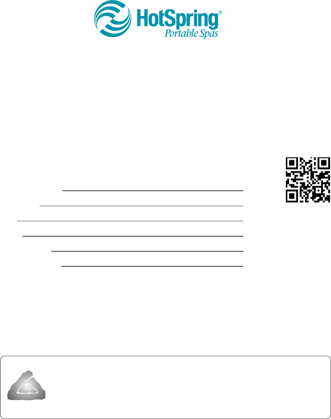 Bedienungsanleitung Hot Spring ENVOY -KK (Seite 1 von 48) (Englisch)