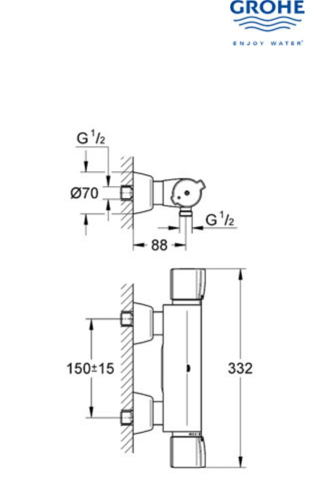 Bedienungsanleitung Grohe Grohtherm 2000 (Seite 1 von 7 ...