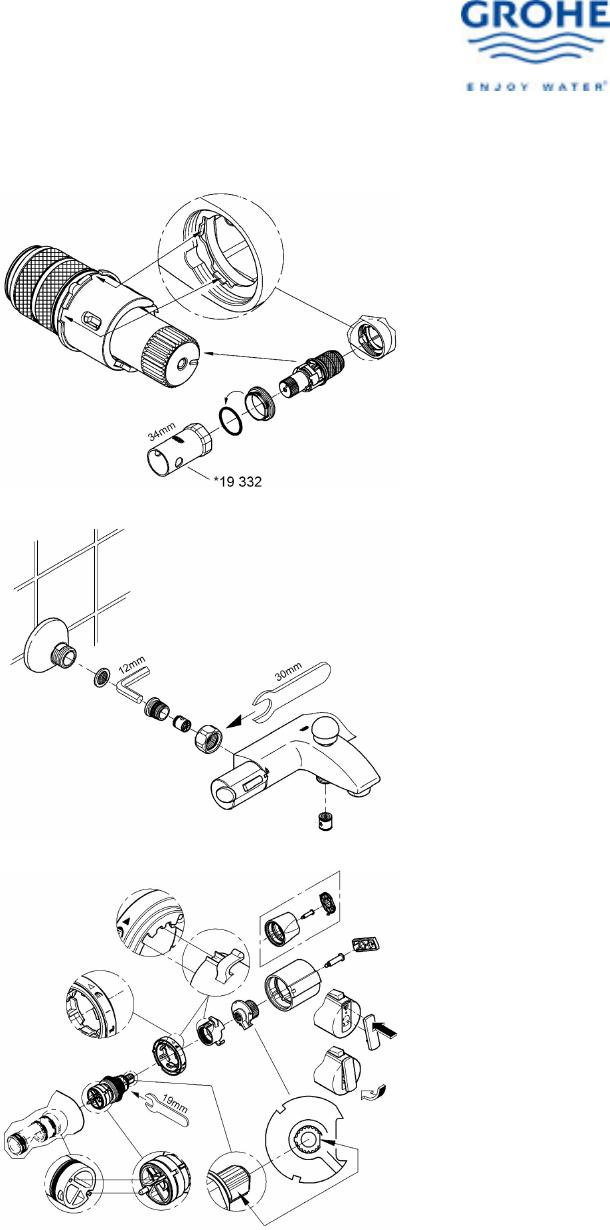 Bedienungsanleitung Grohe Grohtherm 3000 (Seite 6 von 7 ...
