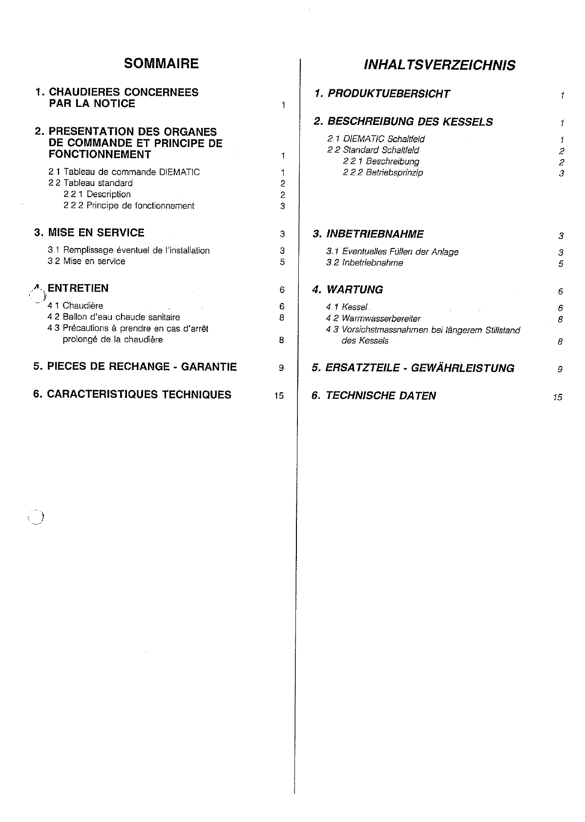 Bedienungsanleitung De Dietrich GT1000 (Seite 1 von 21) (Deutsch)