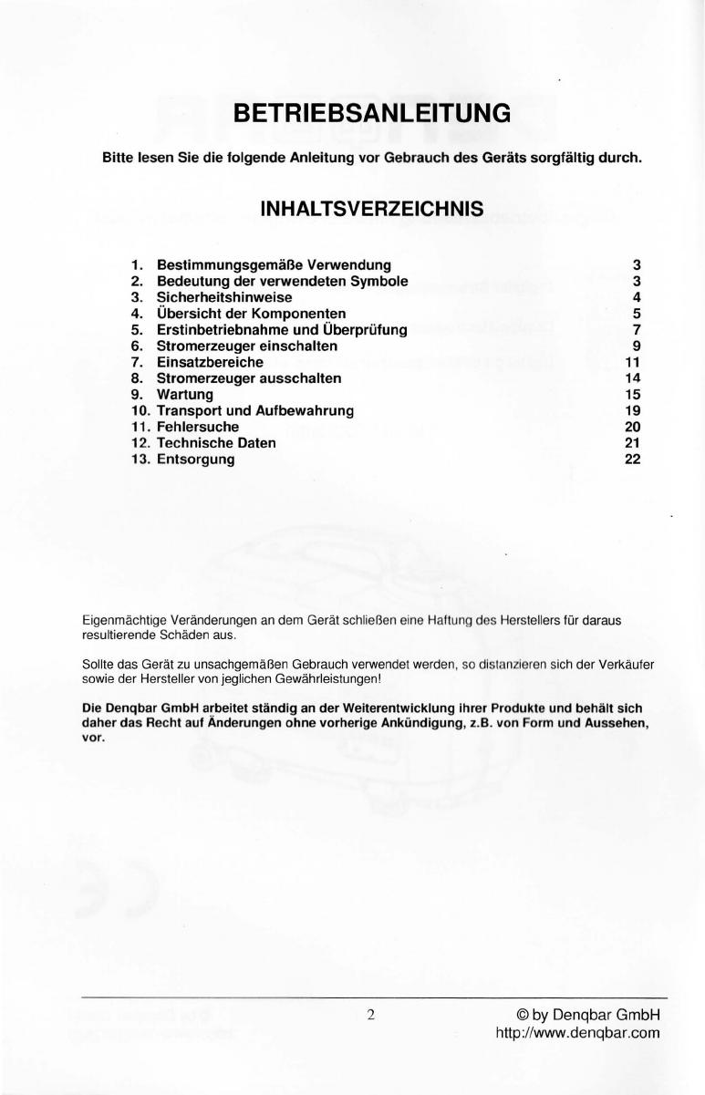 bedienungsanleitung denqbar dq-2800 (seite 1 von 21) (deutsch)