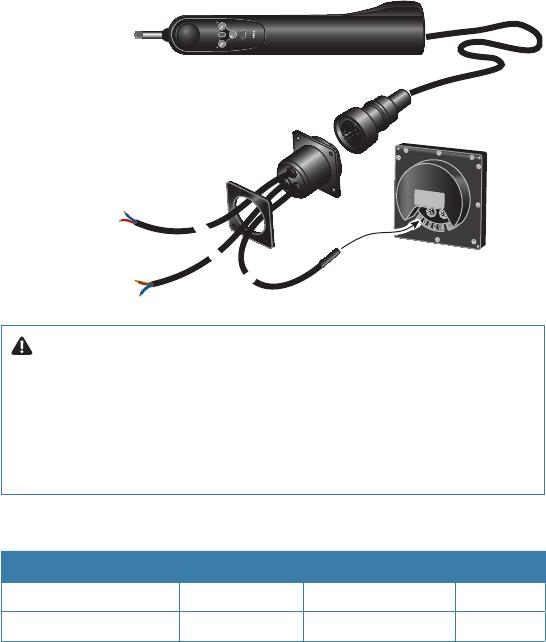 Bedienungsanleitung Simrad TP10 (Seite 17 von 30) (Deutsch)