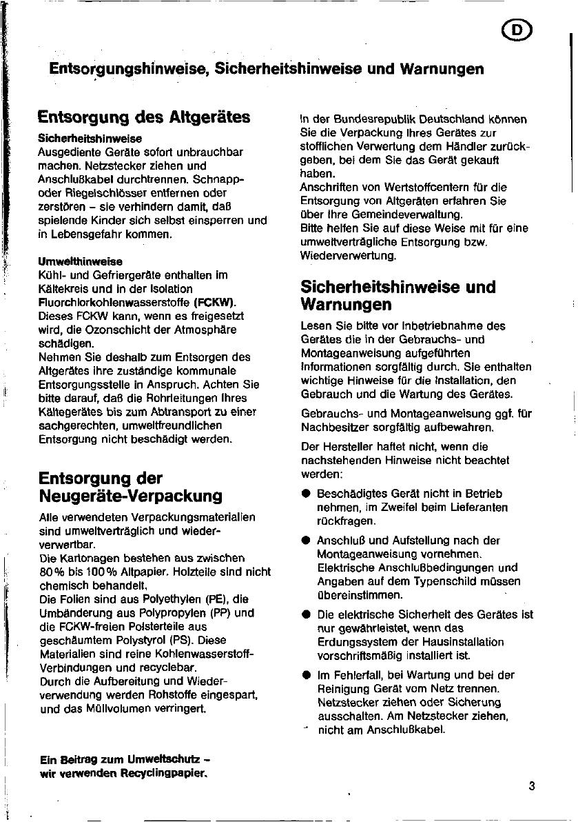Bedienungsanleitung Siemens Kg34e01 Seite 3 Von 83
