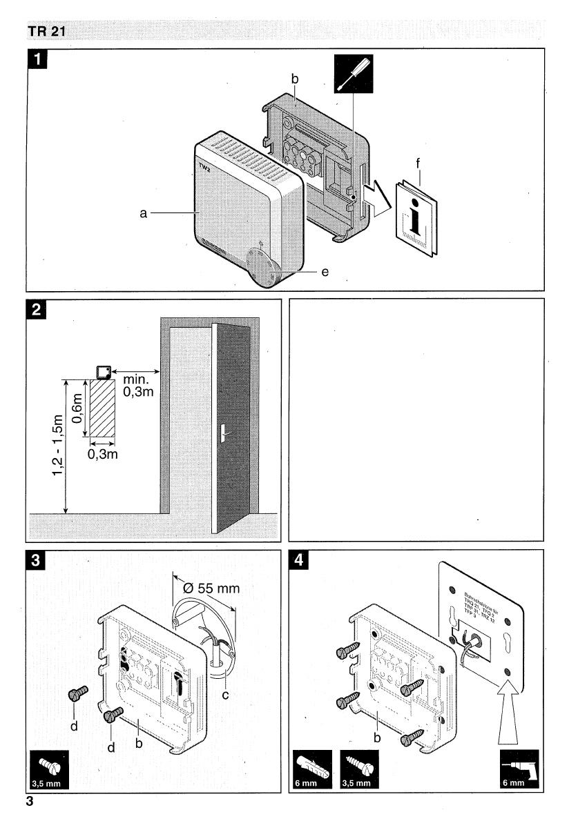 bedienungsanleitung junkers tr 21 seite 3 von 24. Black Bedroom Furniture Sets. Home Design Ideas