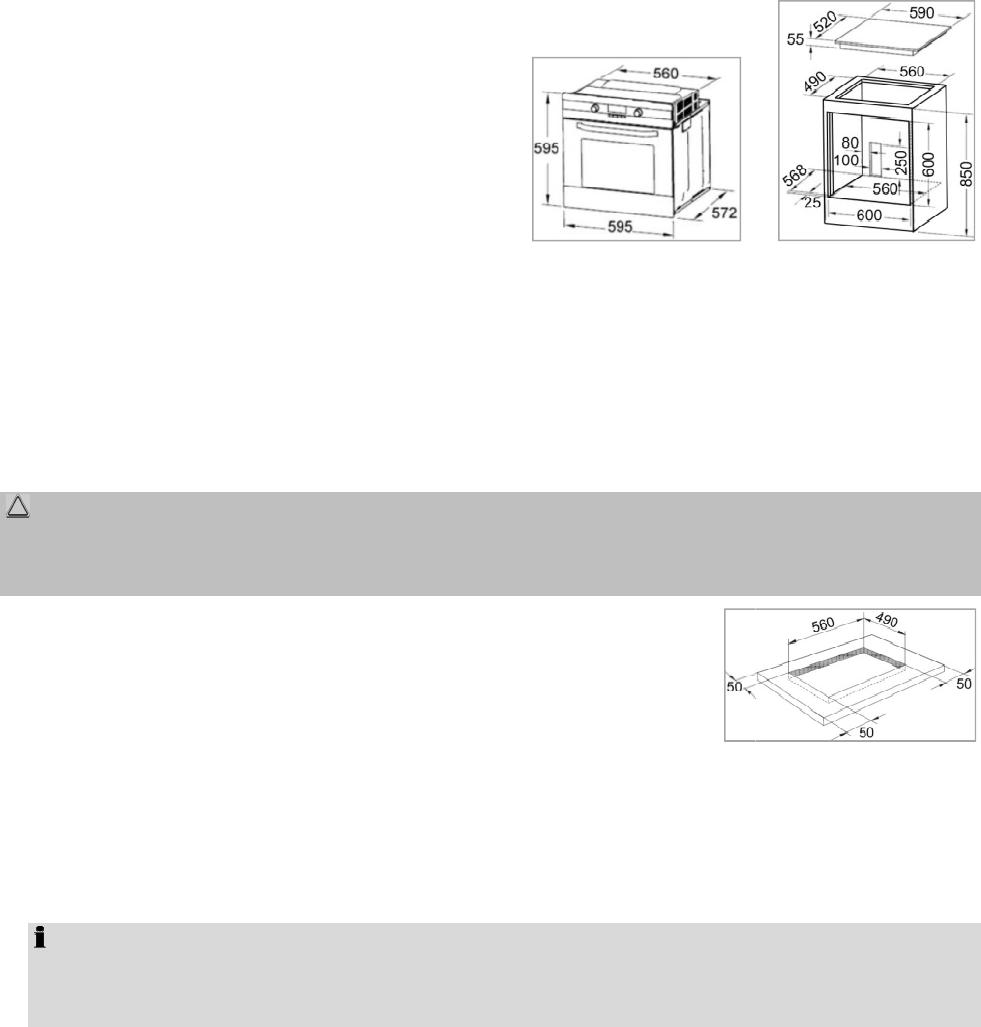 Bedienungsanleitung Bomann EHBC 555 IX (Seite 9 von 24) (Deutsch)