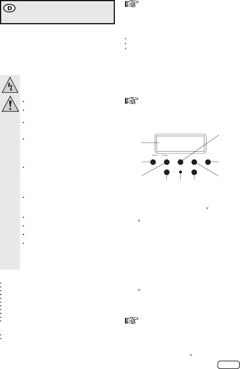 Bedienungsanleitung Sencys (Praxis) EMT757 (Seite 1 von 4) (Deutsch ...