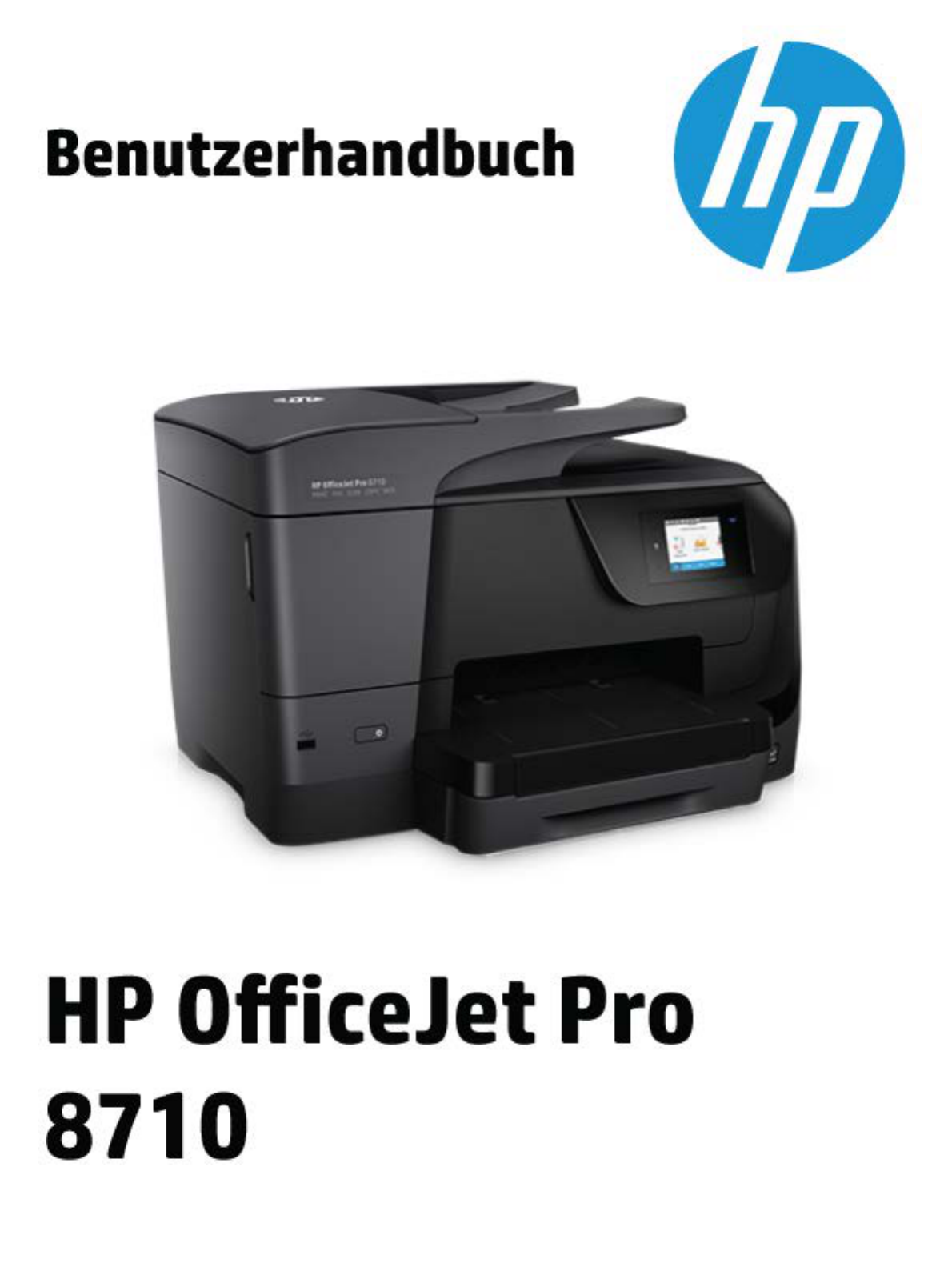 bedienungsanleitung hp hp officejet pro 8710 all in one seite 1 von 198 deutsch. Black Bedroom Furniture Sets. Home Design Ideas