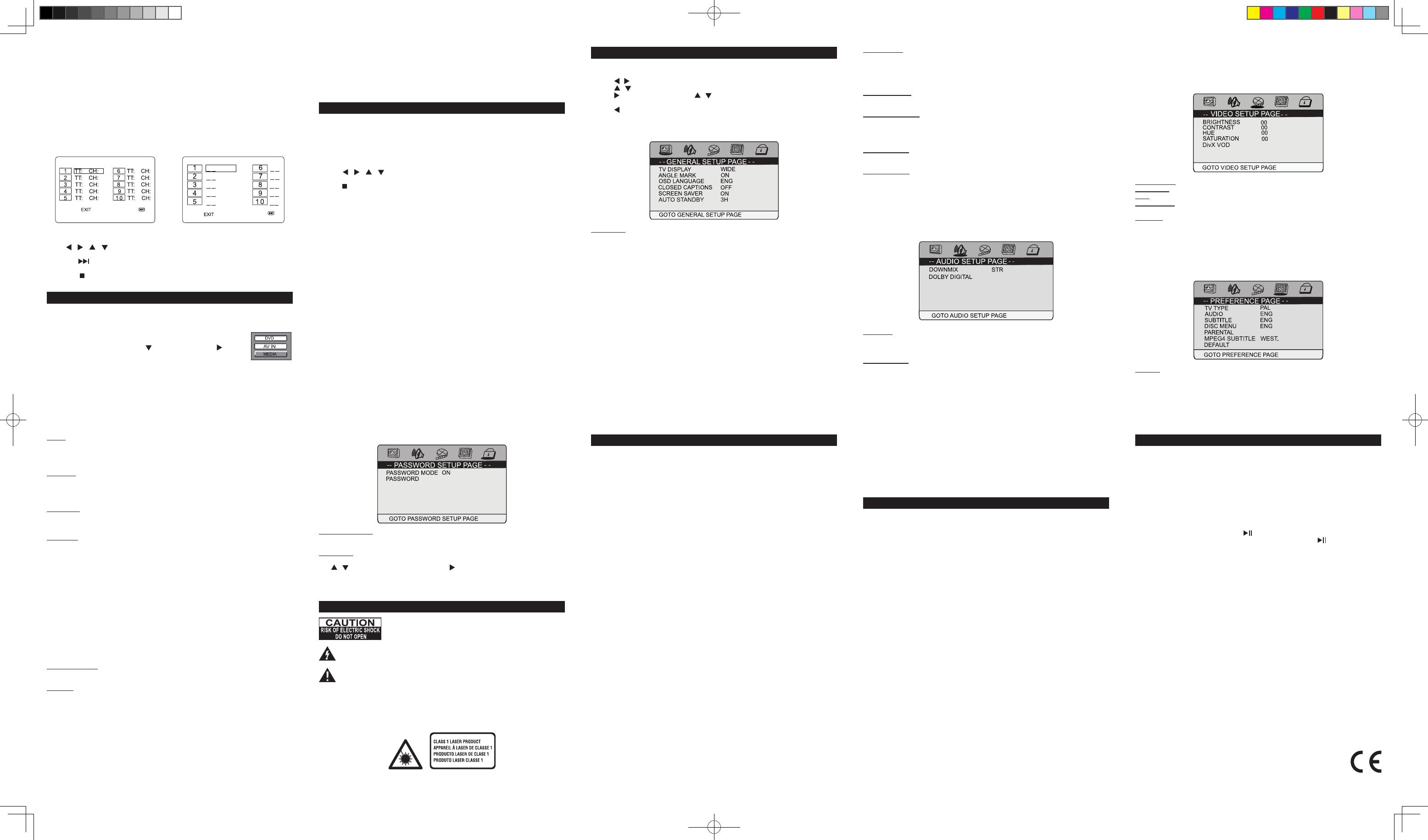 Bedienungsanleitung Muse M 1270 Dp Seite 3 Von 14 Deutsch