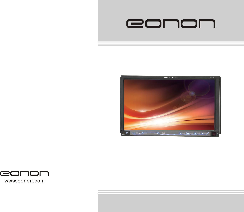 Bedienungsanleitung Eonon G2201 Seite 1 Von 20 Englisch Wiring Diagram