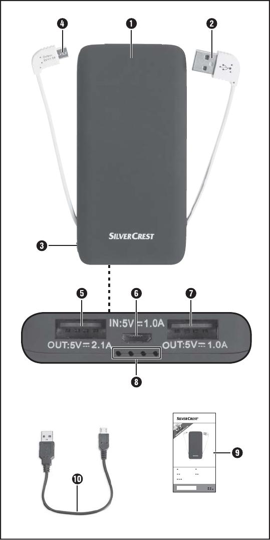 Bedienungsanleitung Silvercrest SPB 5200 A1 IAN 273784