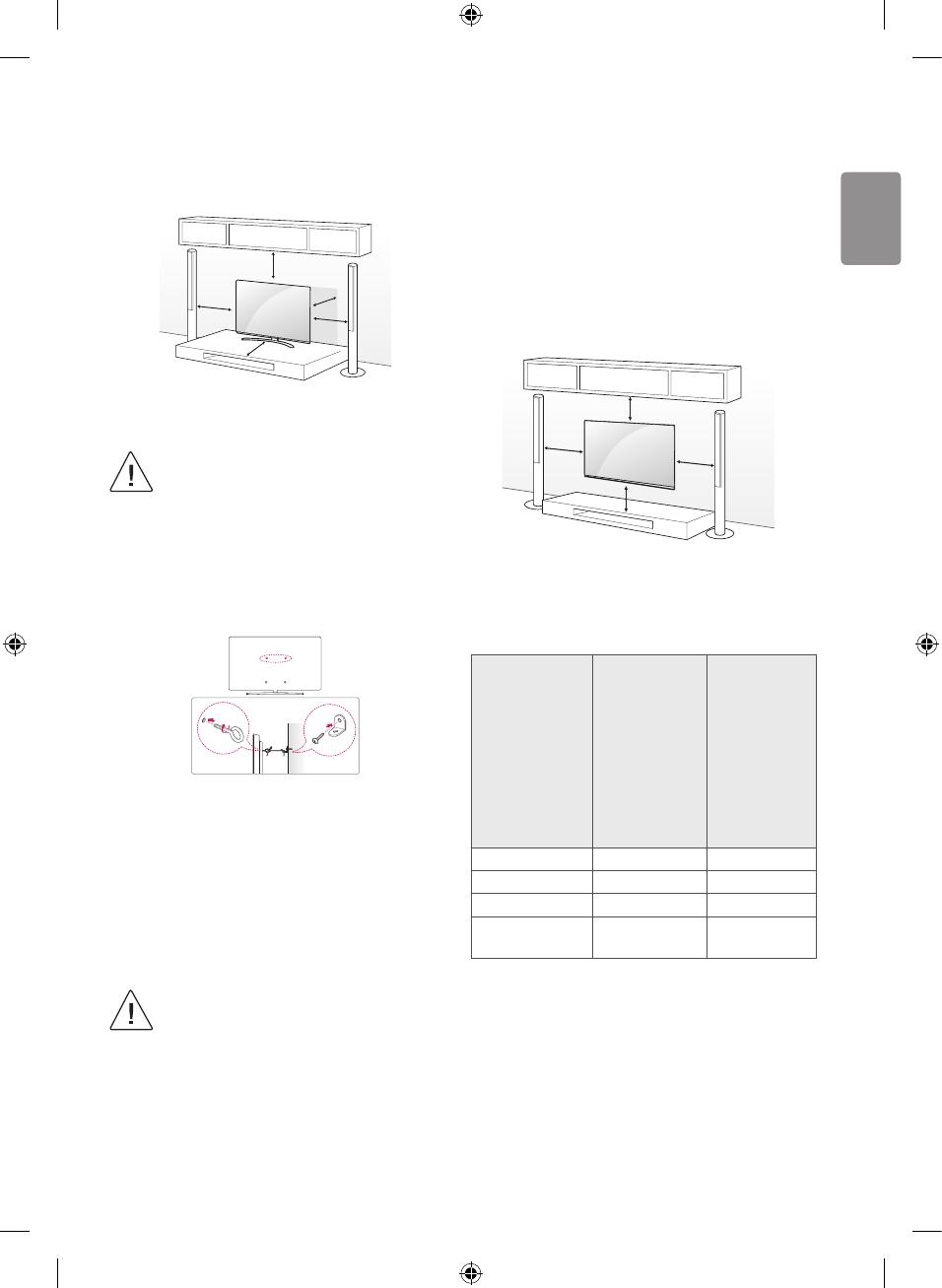 Bedienungsanleitung LG 55SJ800V (Seite 8 von 16) (Englisch)
