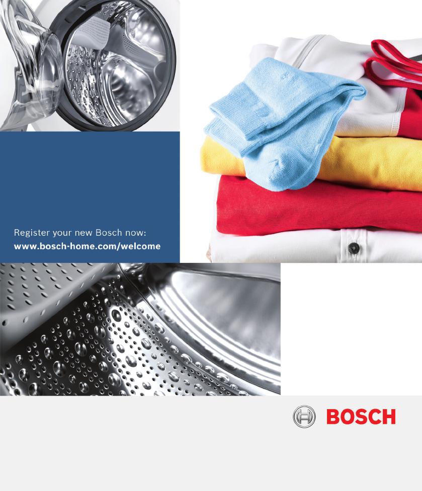 Bedienungsanleitung Bosch WAN282ECO2 Seite 1 Von 48 Deutsch