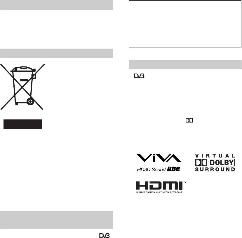 bedienungsanleitung sony kdl 37p3000 seite 2 von 137 deutsch franz sisch italienisch. Black Bedroom Furniture Sets. Home Design Ideas