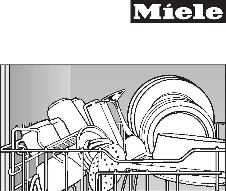 Bedienungsanleitung Miele g 6113 sc plus (Seite 1 von 64