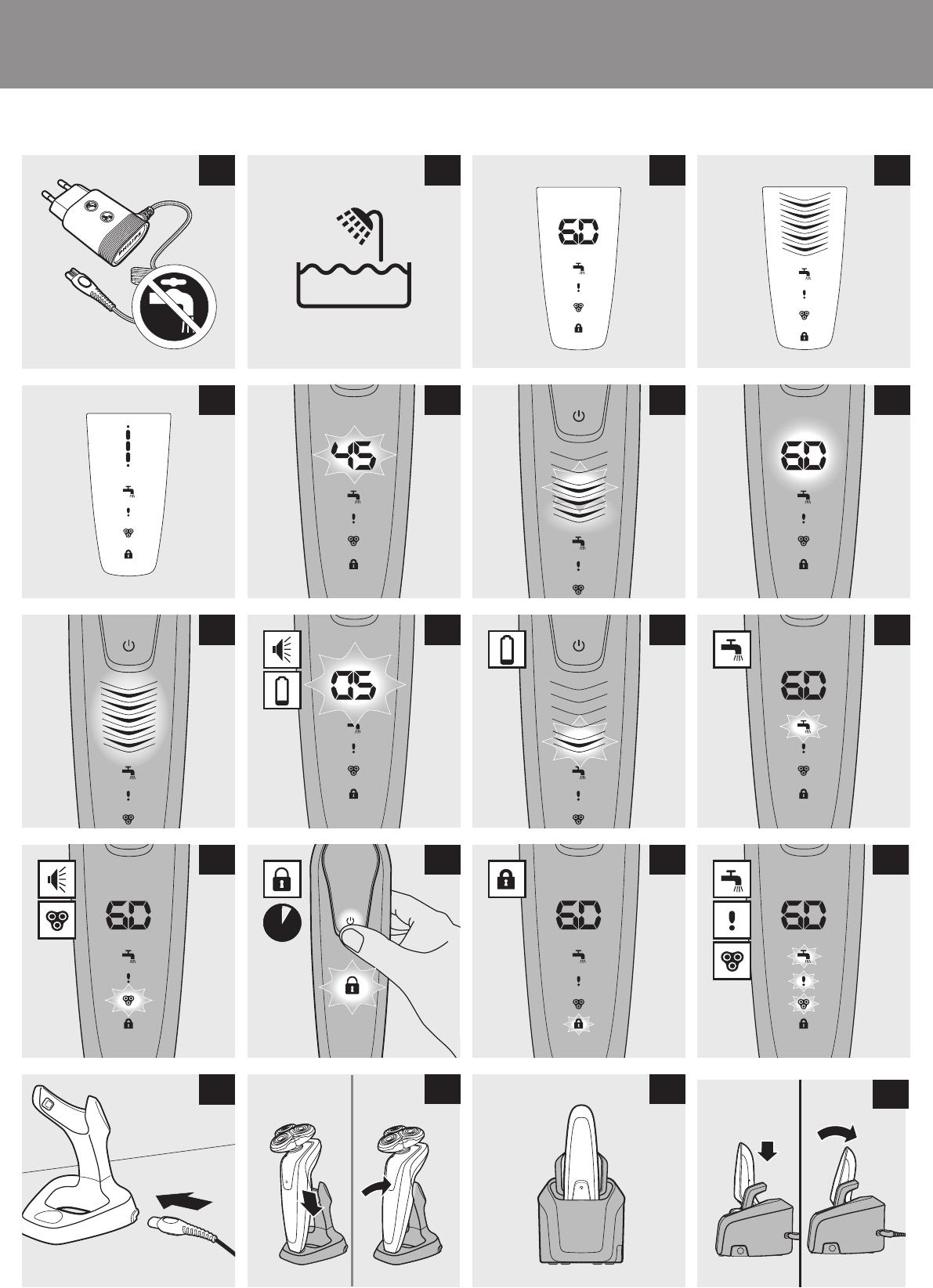 Bedienungsanleitung Philips Senso Touch 3D (Seite 1 von 266