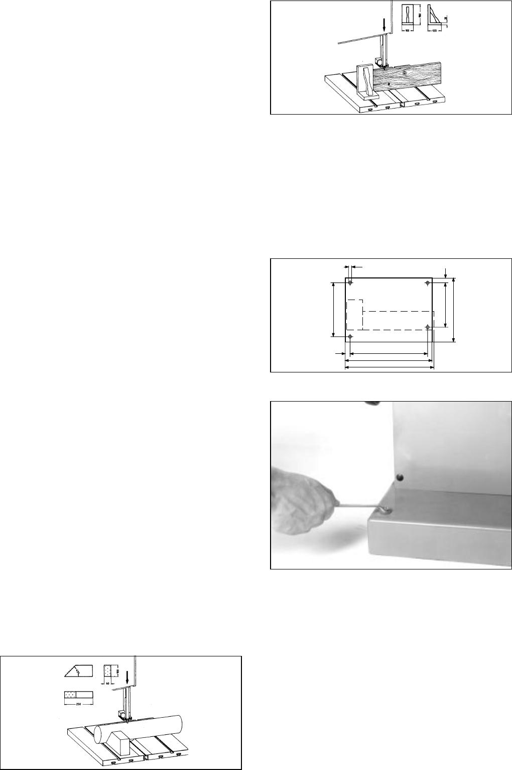 Bedienungsanleitung Metabo Bas 600 Seite 9 Von 38 Deutsch Wiring Diagram 2 Band Saw Installation
