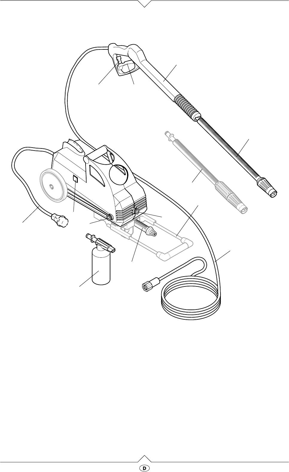 Gut bekannt Bedienungsanleitung Elektra Beckum HD 111-420 (Seite 3 von 48 LY91
