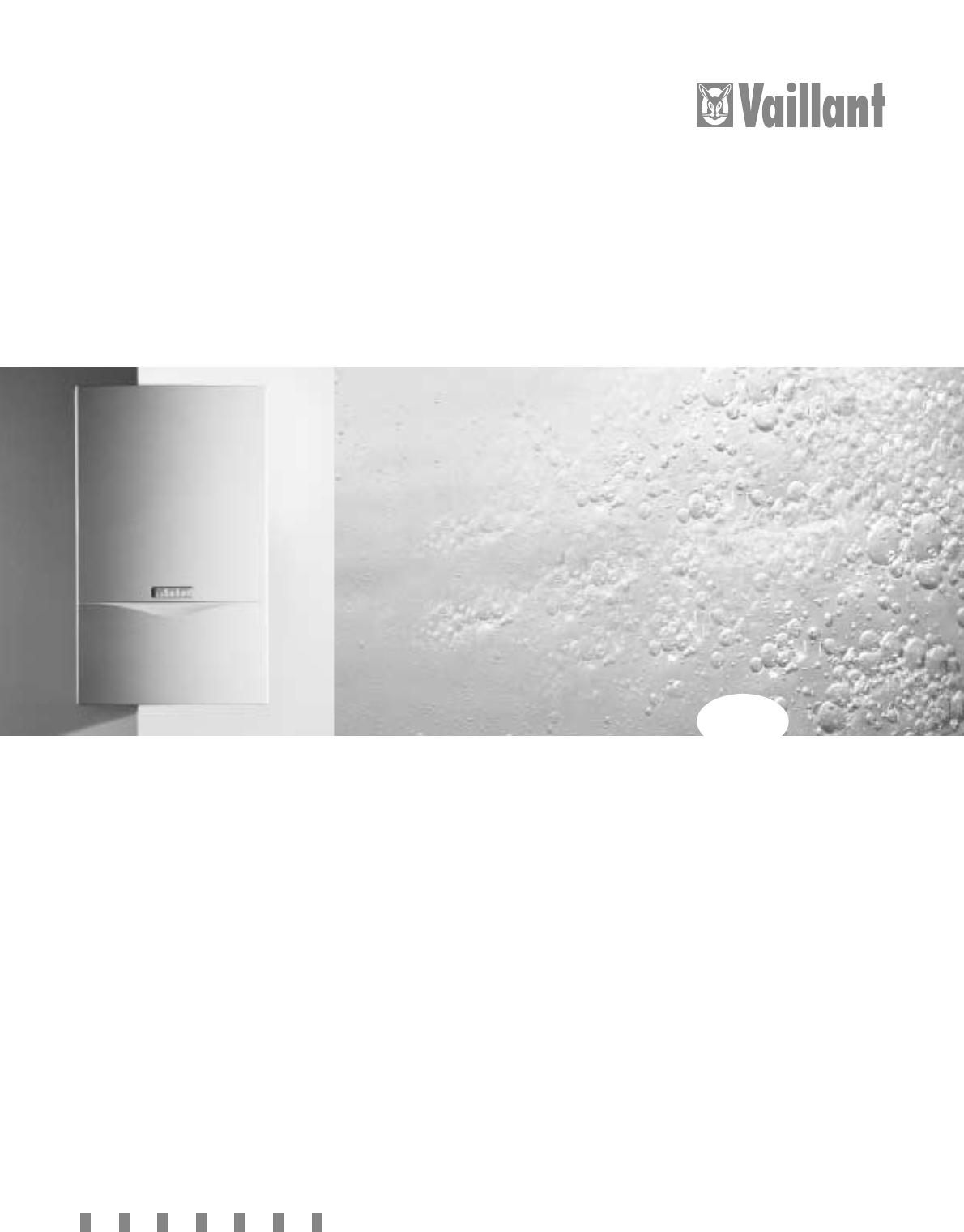 bedienungsanleitung vaillant atmotec classic seite 1 von 24 deutsch. Black Bedroom Furniture Sets. Home Design Ideas