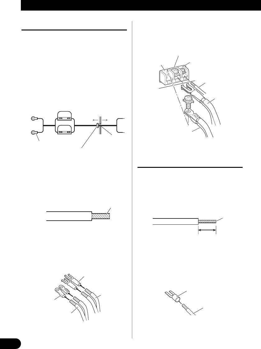 Bedienungsanleitung Pioneer GM-4000F (Seite 32 von 74) (Deutsch, Spanisch,  Italienisch, Holländisch)