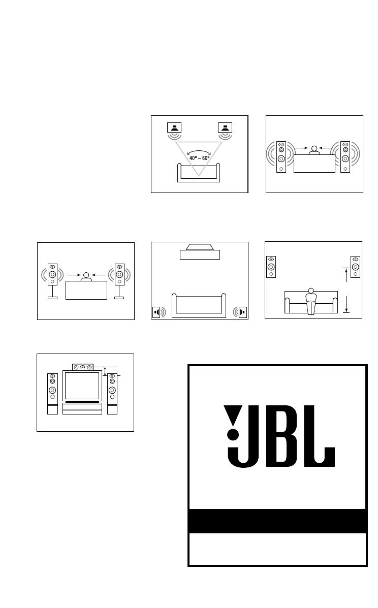 Bedienungsanleitung Jbl Northridge E80 Zwart (seite 1 Von 4) (englisch) Wiring  Diagram Jbl E80