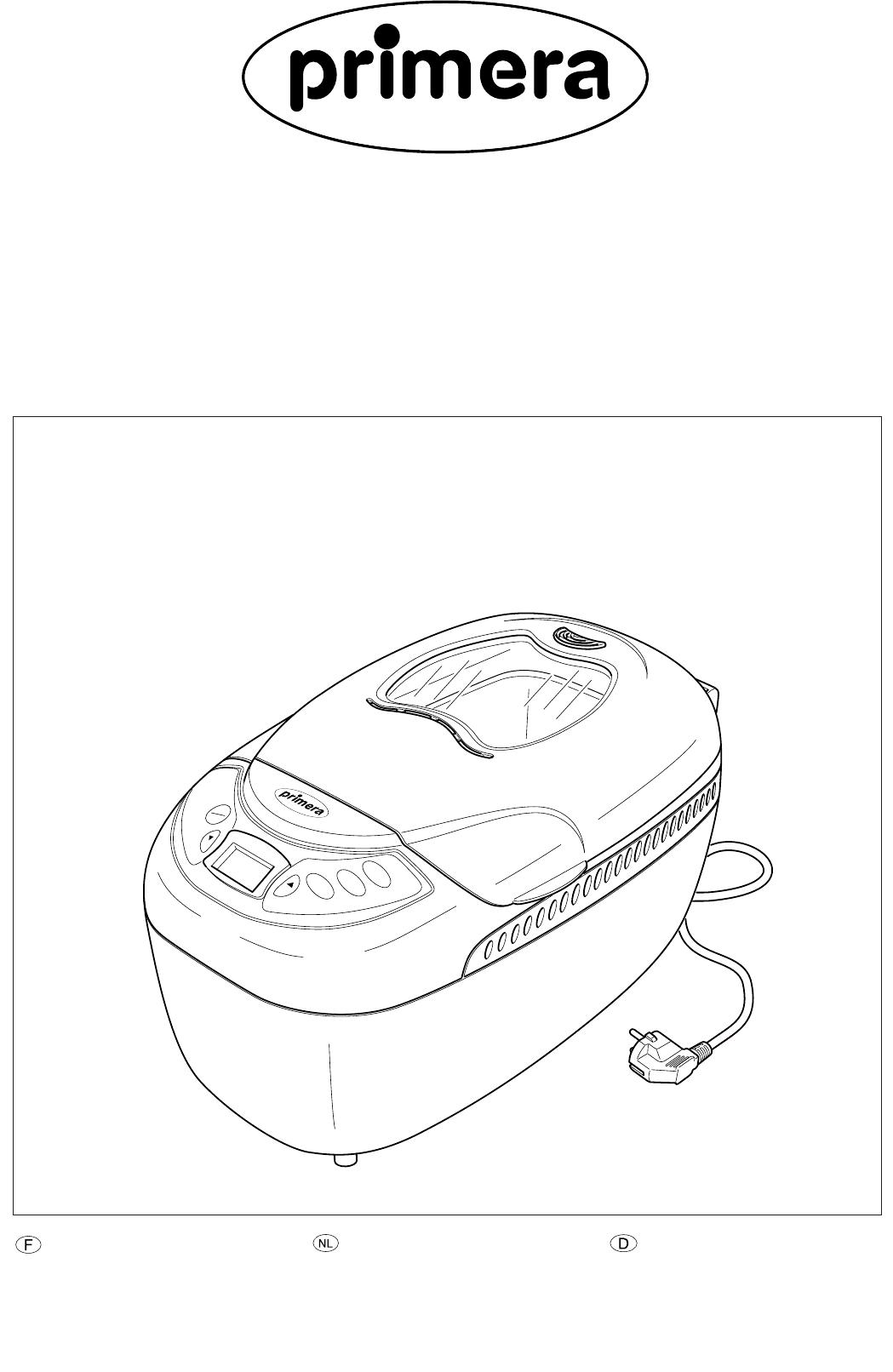 Fif brotbackautomat bedienungsanleitung ebb 010