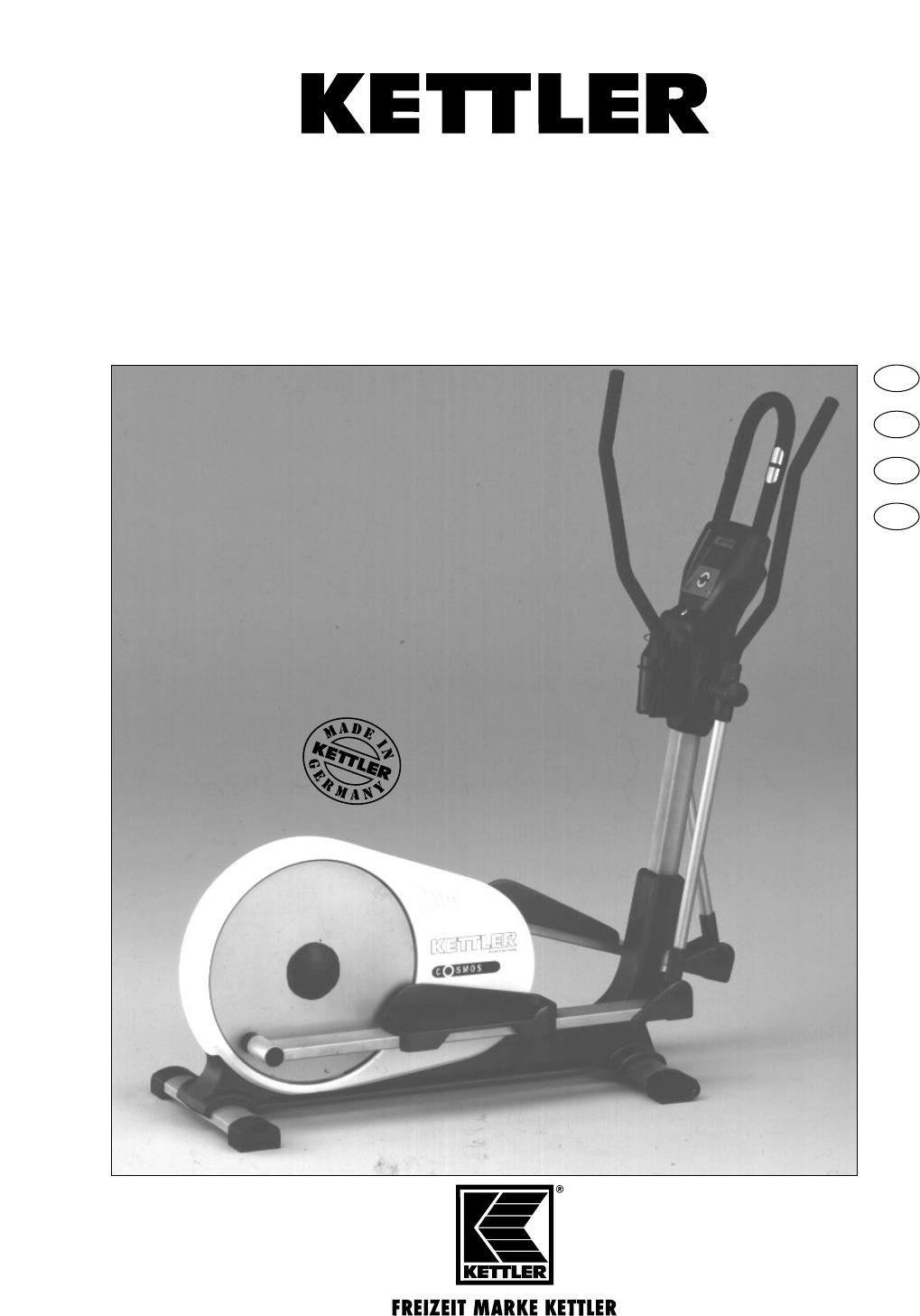 bedienungsanleitung kettler ctr 1 7858 600 seite 1 von 13 deutsch englisch franz sisch. Black Bedroom Furniture Sets. Home Design Ideas